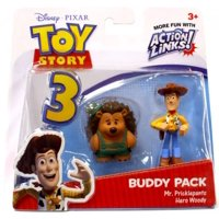 Disney Pixar Toy Story Buddy Pack Mr. Pricklepants & Hero Woody Action Figures