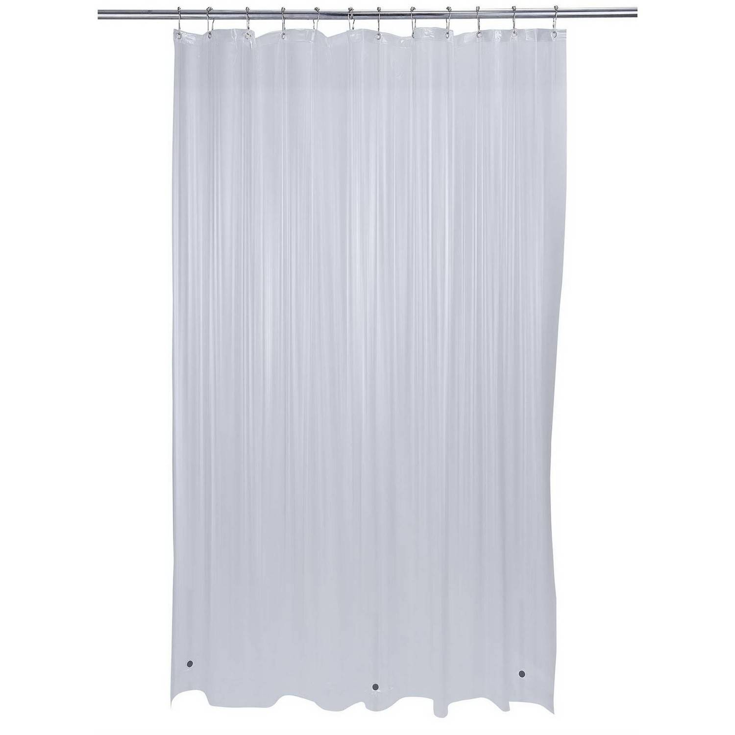 Bath Bliss Shower Curtain Liner, Heavy With Grommets, Super Clear