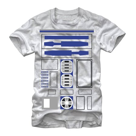 Star Wars Men's R2-D2 Costume T-Shirt](Diy R2d2 Costume)