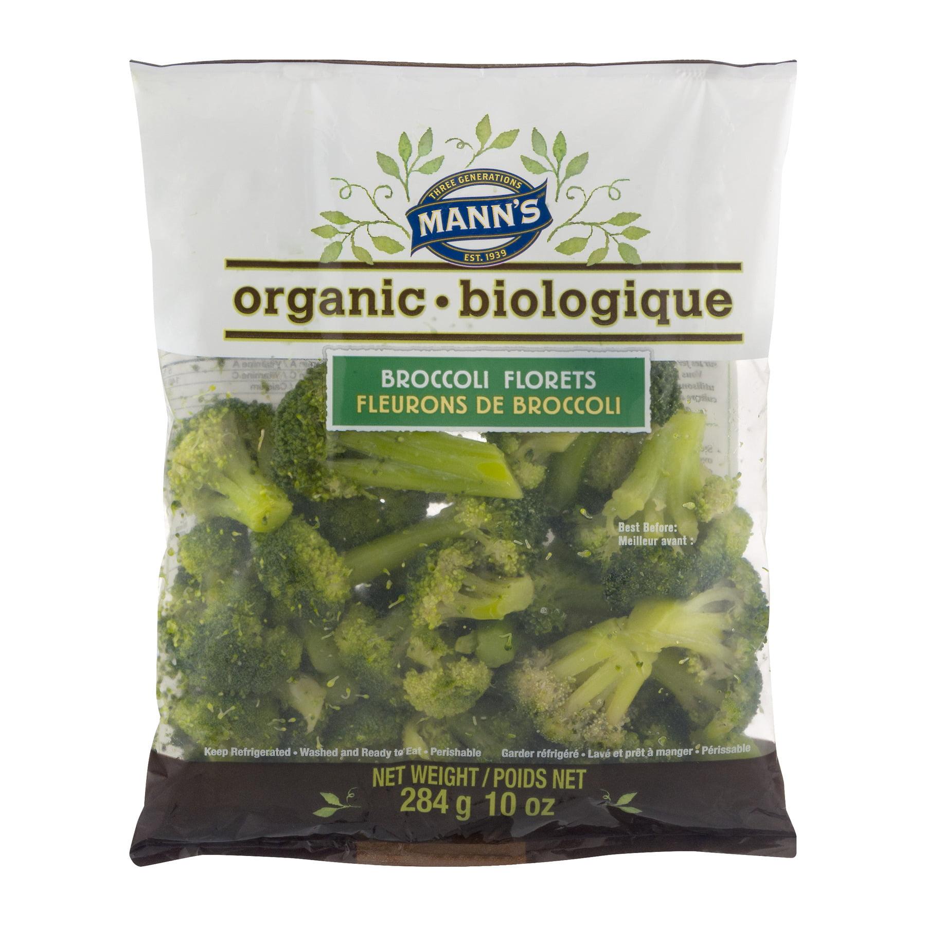 Mann Packing Manns  Broccoli Florets, 10 oz