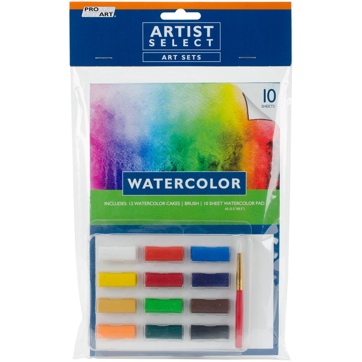 Pro Art Watercolor Set-12pcs