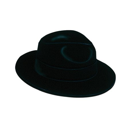 Black Velour Fedora](Fedora Black)