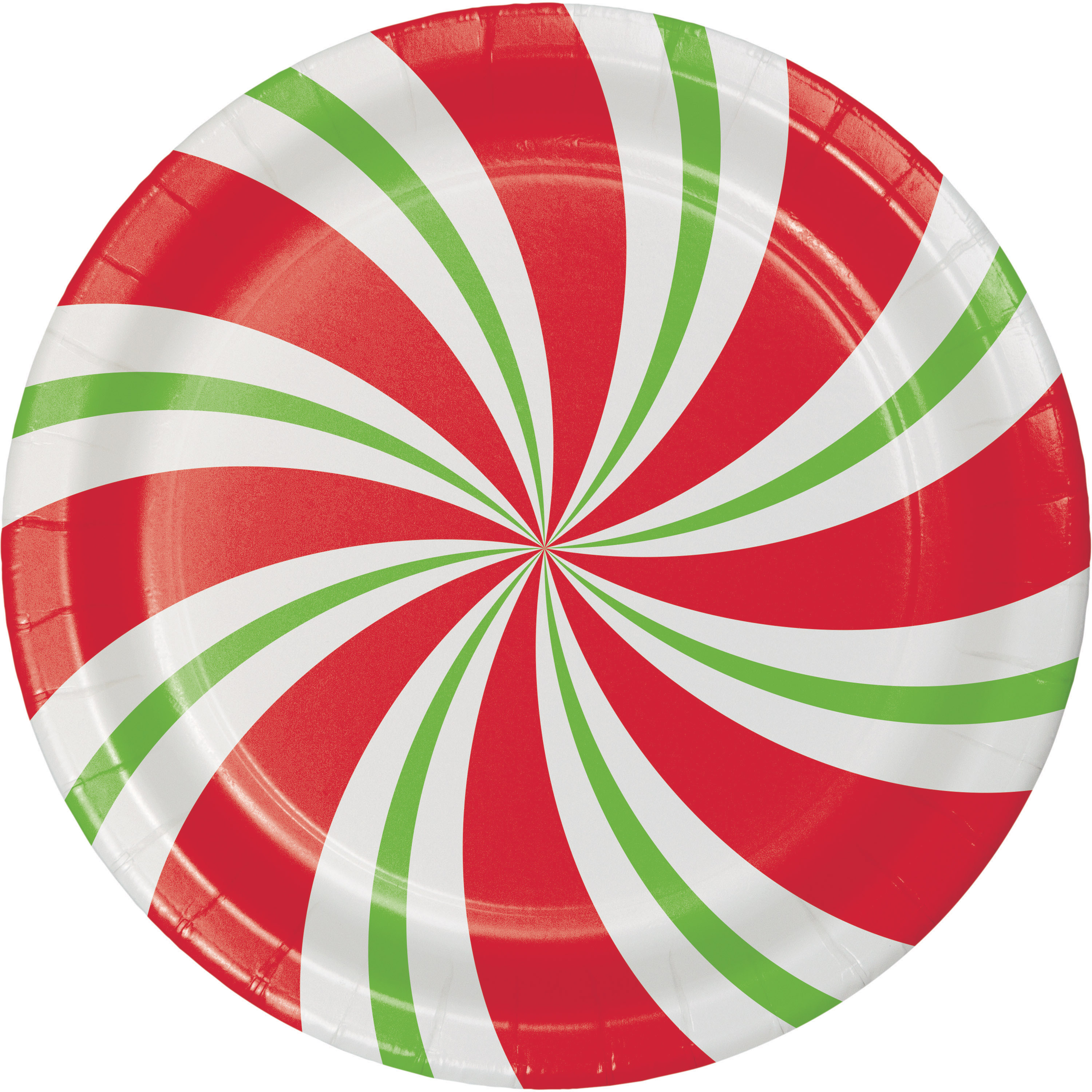 Peppermint Party Paper Plates 8 pack  sc 1 st  Walmart.com & Peppermint Party Paper Plates 8 pack - Walmart.com
