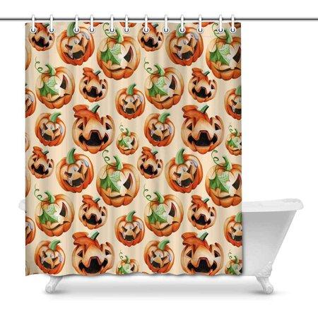 POP Consisting of Treats Pumpkins Art Shower Curtain 66x72 inch - image 1 of 1