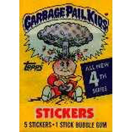 Garbage Pail Kids Series 4 Trading Card Sticker Pack