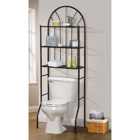 Hazelwood home 23 39 39 x 68 39 39 over the toilet cabinet for Bathroom cabinets over toilet walmart
