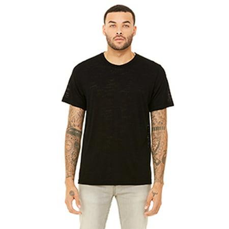 Bella + Canvas Unisex Poly-Cotton Short-Sleeve T-Shirt (Peach Shirt For Boys)