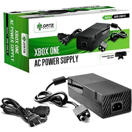 AC Adapter Power Supply Cord for Xbox One [QUIET VERSION] Best for (Best Xbox 369 Games)