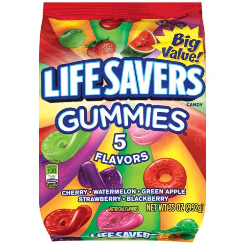 Life Savers 5 Flavors Gummies Candy, 35 Oz.