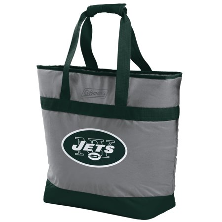 New York Jets Tire Cover (Rawlings NFL 30 Can Soft Tote Cooler, New York)