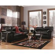 Signature Design by Ashley Commando Leather Living Room Set