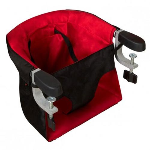Mountain Buggy Pod Portable Clip-on High Chair -  Chilli