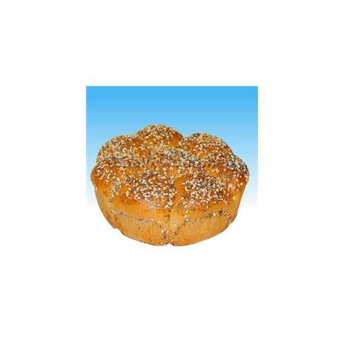Challywood PA-43 Everything Mini Pull-Apart Challah - Pack of 2