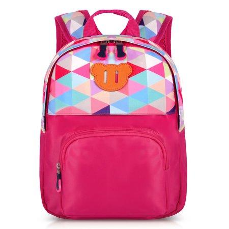 Kids Backpack, Vbiger Kindergarten School Bag Toddler Shoulder Bags, Rose Red - Bags For Kids