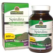 Nature s Answer  Spirulina  800 mg  90 Vegetarian Capsules