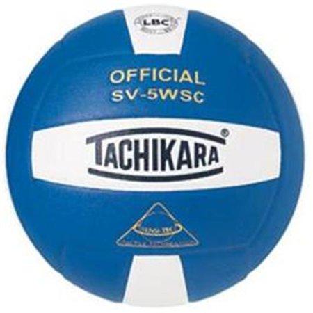 Tachikara SV5WSC.RYW Sensi-Tec Composite High Performance Volleyball - Royal-Blanc - image 1 de 1