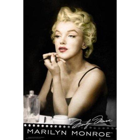 Marilyn Monroe Lipstick Movie Poster 24X36 Inch