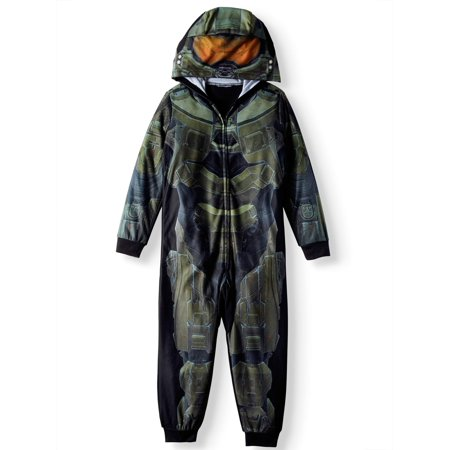 Little Boy Ghost Costume (HALO Union Suit Pajama (Big Boy & Little)