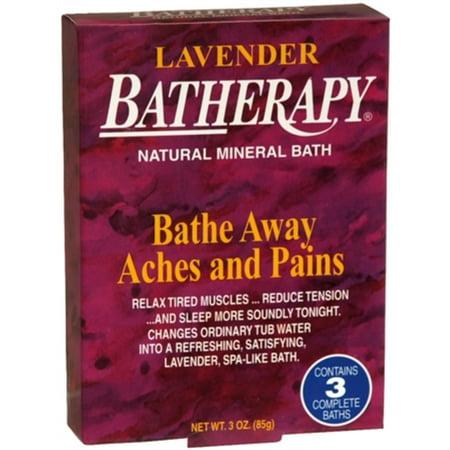 Batherapy Sport Natural Mineral Bath - BATHERAPY Natural Mineral Bath Lavender 3 oz