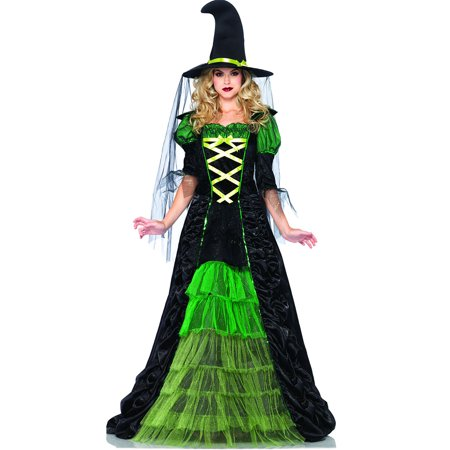 Witch Adult Womens Costume - Leg Avenue Storybook Witch Adult Womens Costume