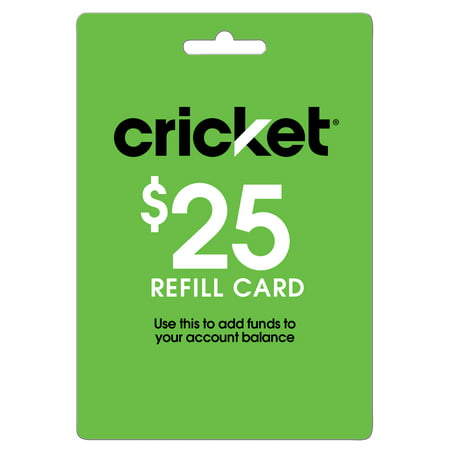 Cricket Wireless $25 (Email Delivery) ()