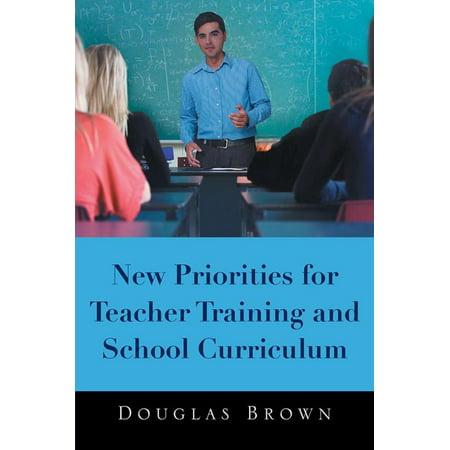New Priorities for Teacher Training and School Curriculum - eBook