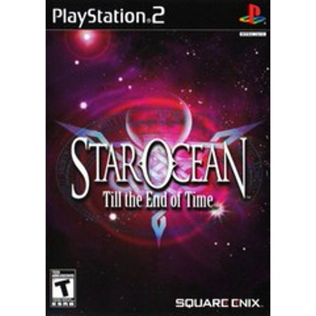 Star Ocean Till the End of Time - PS2 Playstation 2