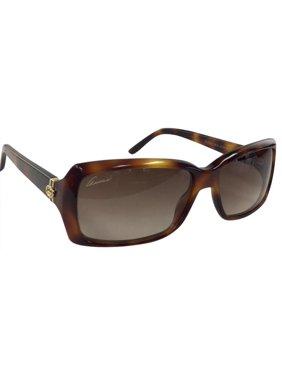 03bd0a18ac288 Product Image Gucci GG 3590 S 5LJD Havana Gold Plastic Sunglasses 57mm