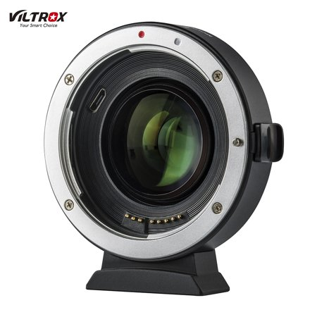 Viltrox EF-EOS M2 Auto Focus Lens Mount Adapter Ring 0.71X Focal Lenth Multiplier USB Upgrade for Canon EF Series Lens to EOS EF-M Mirrorless Camera for Canon EOS M/ M2/ M3/ M5/ M6/ M10/ M50/ (Best L Series Lens)