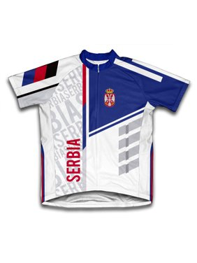 Product Image Serbia ScudoPro Short Sleeve Cycling Jersey for Men - Size XS f110d0ebe
