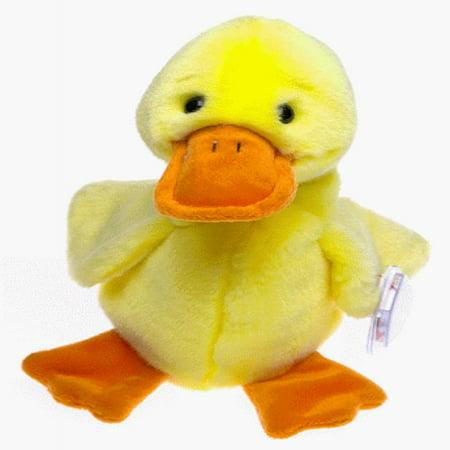 Duck Quackers (Ty Beanie Buddies - Quackers the Duck)