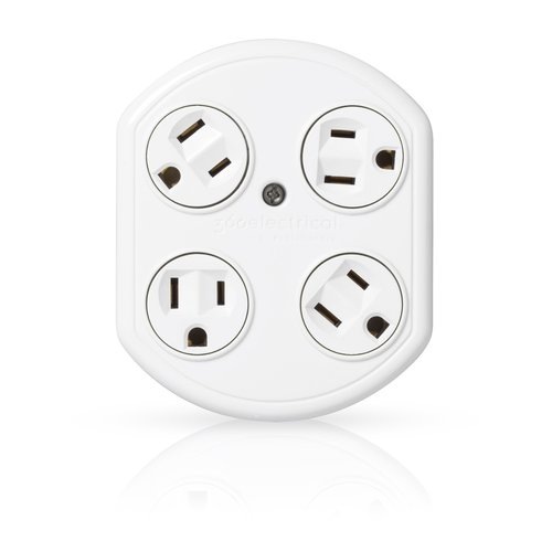 360 Electronics Revolve Basic Adapter with 4 Rotating Outlets