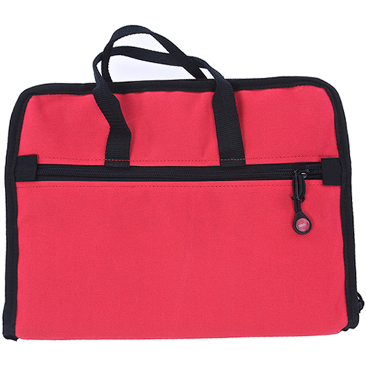 Notions Bag 20 Inch X 12 Inch-Red
