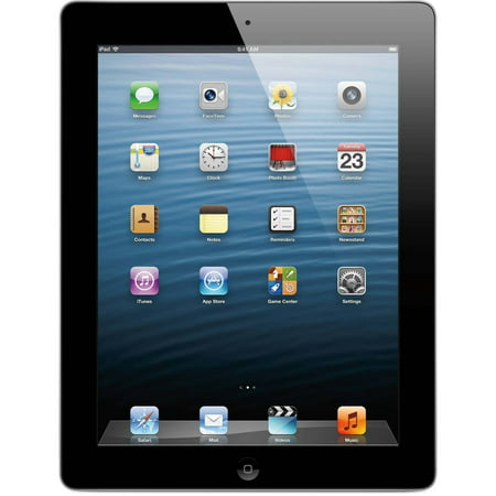 Apple Ipad 4 9 7 Inch 32Gb Wi Fi  Black  Refurbished Grade A