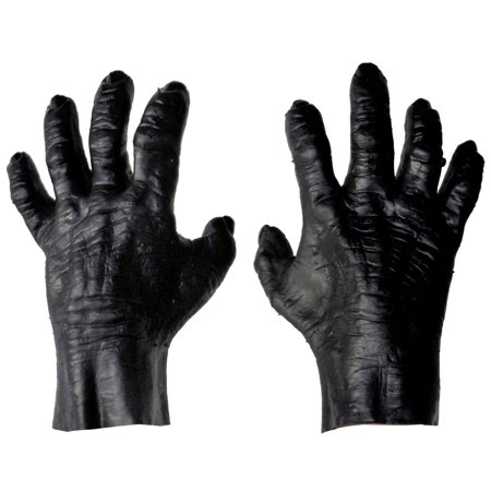 Gorilla Hands Adult Halloween Accessory