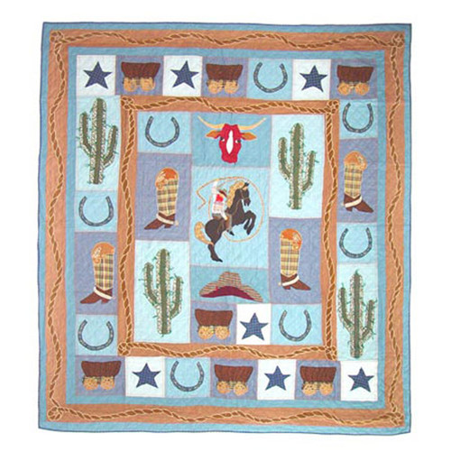 Patch Magic Cowboy Quilt
