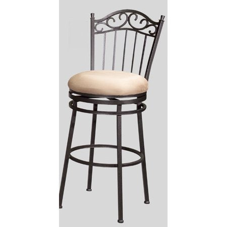 Chintaly parma 26 in memory swivel counter stool - Windsor back counter stools ...