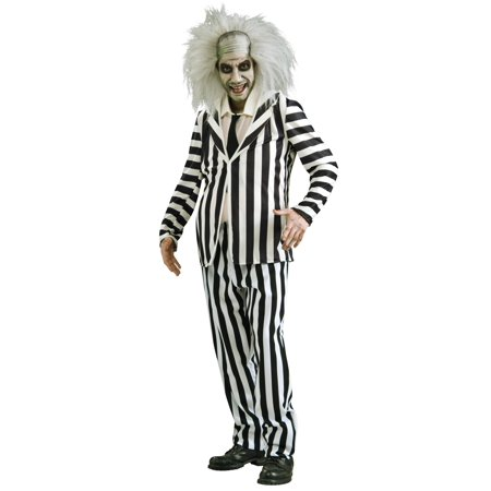 Plus Size Beetlejuice Costume (Beatle Juice Costumes)
