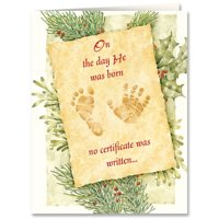 Christmas Certificate Card Set of 20