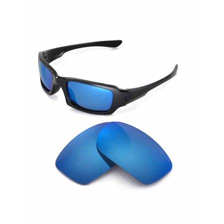 Walleva Ice Blue Polarized Replacement Lenses for Oakley Fives 3.0 Sunglasses (Oakley Ersatzgläser Fives 3.0)