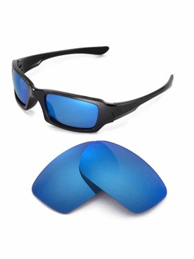 9afd587dd9 Product Image Walleva Ice Blue Polarized Replacement Lenses for Oakley  Fives 3.0 Sunglasses