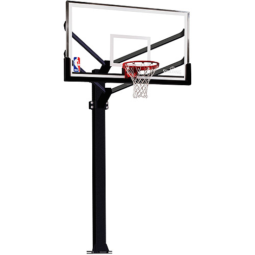 Spalding 48 Polycarbonite Basketball Backboard And Rim ...