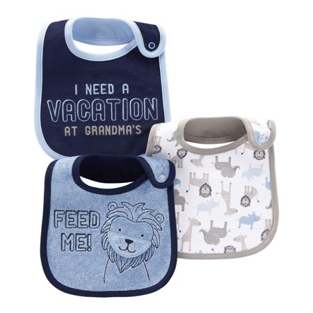 Child Of Mine By Carter's Bibs, 3-pack (Baby Boys) (Frosty Bib)