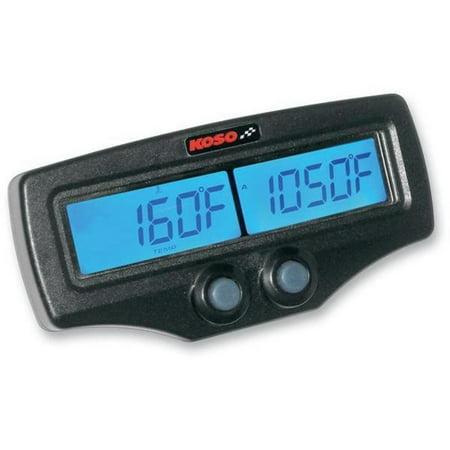 Water Temperature Sensor Attachment - Koso North America BA006B00X Dual EGT Meter with Tachometer and Water Temperature with Fast-Response EGT Sensors