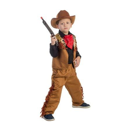 Wild West Rodeo Cowboy Boys Costume