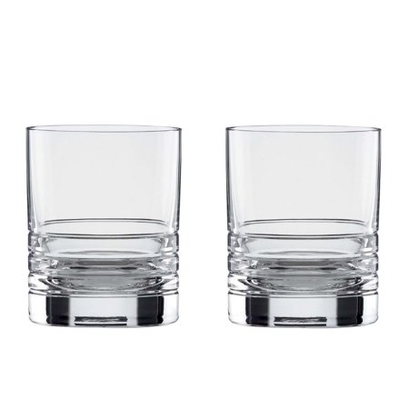 kate spade new york Percival Place 12 Ounce Double Old Fashioned 2 Piece Glass (12 Ounce Old Fashioned)