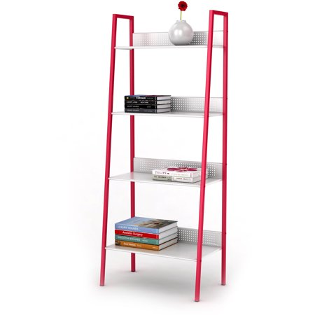 Atlantic 4-Tier Angled Ladder Shelving Unit