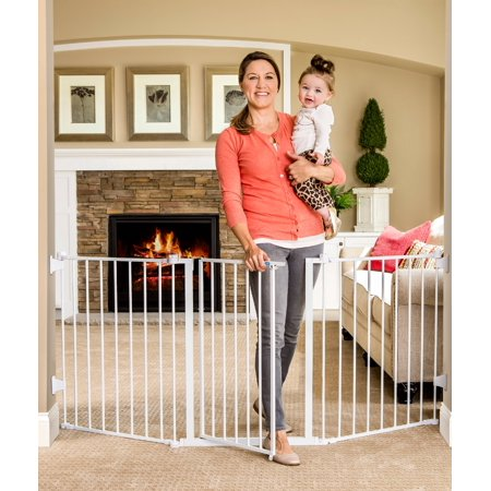 Regalo Open Area Baby Gate, up to 76