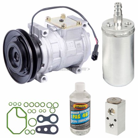 AC Compressor w/ A/C Repair Kit For Dodge Neon Plymouth Neon 1997 1998 1999