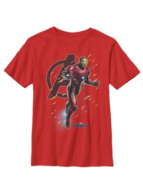 012a22f8 Product Image Marvel Boys' Avengers: Endgame Iron Man Flight Ready T-Shirt